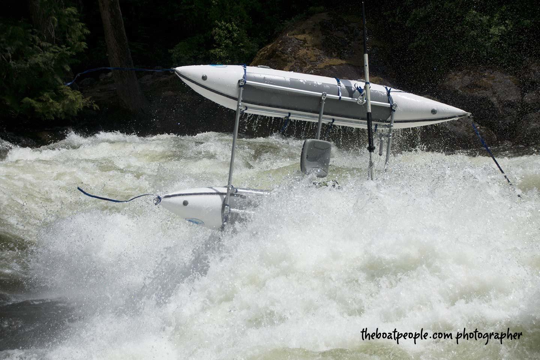 AIRE Cataraft Wave Destroyer 12 Lochsa River 2014 Ian Fodor-Davis