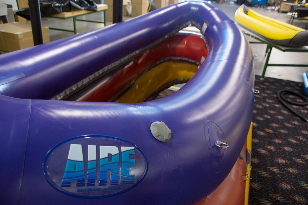 AIRE Purple Super Puma Raft Hull