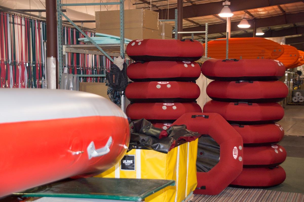 AIRE Rocktagon River Tubes Pressure Tested